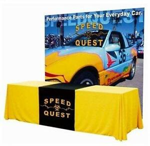 PROMOTIONAL / CUSTOM DESIGN TABLE COVERS & THROWS - GET NOTICED!