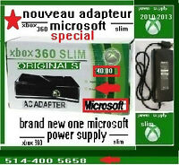xbox 360 slim power supply adapteur