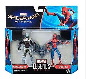 Marvel Legends Spiderman et Vulture 3.75''