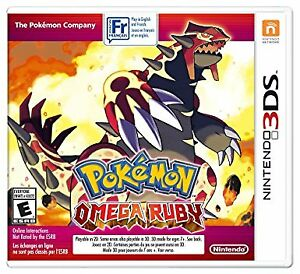 Ninetendo 3DS Pokemon Omega Ruby