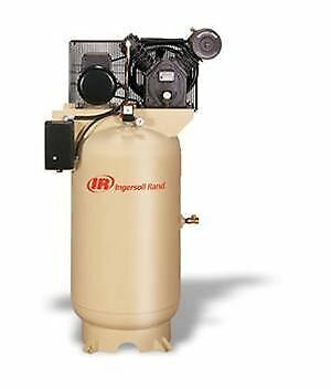 Used Ingersoll Rand 10-hp Air Compressor Model 2545k10-vp - Ships From Usa