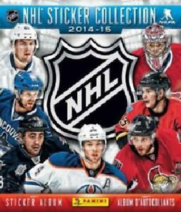 complete Panini 2014-2015 NHL Hockey Stickers book