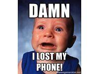 LOST PHONE - REWARD GIVEN