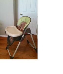 Graco High Chair Cambridge Kitchener Area image 2