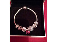 Genuine pandora charms, bracelets, rings, and earrings 50% off retail prices