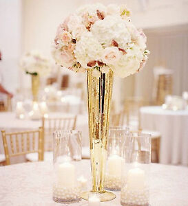 wedding centrepieces for sale glass vases artificial flowers