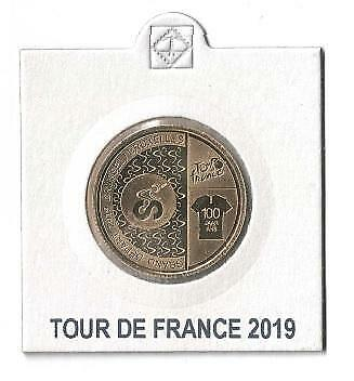 België 2,5 Euro 2019 Tour de France in Munthouder