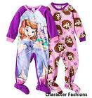 Girls Footed Pajamas 3T
