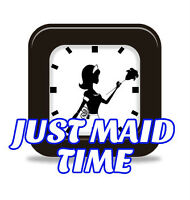 Just Maid Time is a licensed, insured and bonded company.