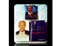 PAUL O'GRADY BIOGRAPHY BOOKS - (3) - HARDCOVER/PAPERBACK - FOR SALE.