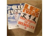 Lee Evans DVD's