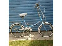 Ladies Folding Bike