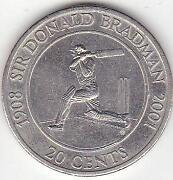 Don Bradman Coins