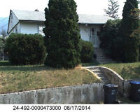 4 Bedroom house with wreck room for rent in Williams Lake.