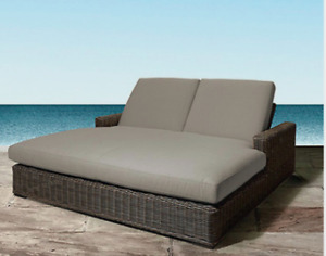 Wicker Outdoor Beds Patio Pool