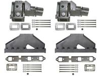 Exhaust Manifold Kit for Volvo 4.3L 1994 and Newer using 7.75 Inch Riser