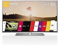 LG SMART TV FULL HD 1080P FREE VIEW HD FREESAT HD WIFI NETFLIX YOUTUBE 3 X USB 3 X HDMI 3D READY