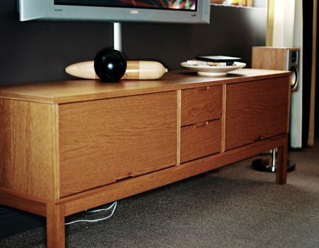 tv bench sideboard tv cabinet ikea stockholm 2012. Black Bedroom Furniture Sets. Home Design Ideas