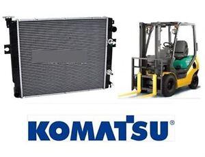 NEW ENGINE RADIATOR NISSAN K15 FOR KOMASTSU FORKLIFT