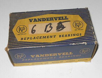 NOS Ancient Vandervell Main Bearings for Hillman Minx III-VI & Husky I. Std.