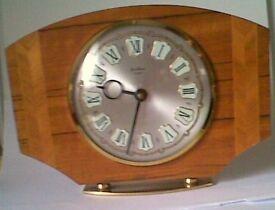 Vintage 1960's Bentima 8 Day Mantle Clock