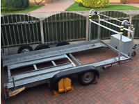 Car Transporter Trialer, Manufactured by Brian James.