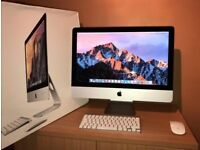 21.5 iMac core i5. 500g Hard Drive.8 gig Ram. Mouse/Keyboard.Original Box.
