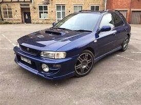 Subaru Impreza Wrx Turbo Japanese Import