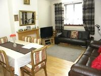 A large and spacious four double bedroom flat on the ground floor of this block in N4