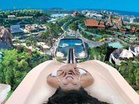 Siam Park Tenerife VIP Tickets x2 (fastpass, free food&drinks&beer, free lockers). Valid 12M