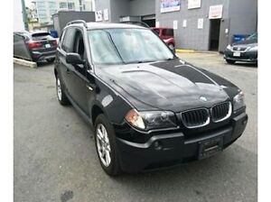2006 BMW X3 2.5i-ALL WHEEL DRIVE