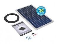 60 Watt Fold Up Solar Panel Kit - Includes Voltage Regulator BRAND NEW STOCK CLEARANCE