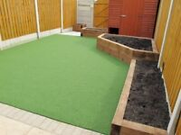LANDSCAPE MAINTENANCE DRIVEWAY GARDEN SERVICES PATIOS FENCING DECKING ARTIFICIAL GRASS INDIAN STONE