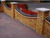 Bricklaying gang