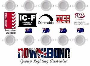 10W LED DOWNLIGHT CE DIMMABLE 90MM CUTOUT Warm/WHITE AB Brisbane City Brisbane North West Preview