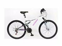 Tempest dual suspension ladies mountain bike