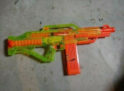 NERF Stampede ECS Limited Edition Neon Green