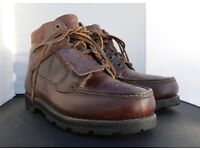 Gents Brown Leather Timberland Boots - Size 9/43