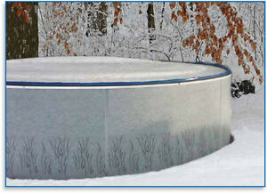 Winter pool cover for a Radiant pool 24 ft. diameter London Ontario image 1