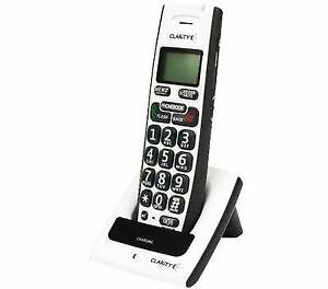 Clarity D603 Dect 6.0 Amplified Cordless Phone & Speakerphone