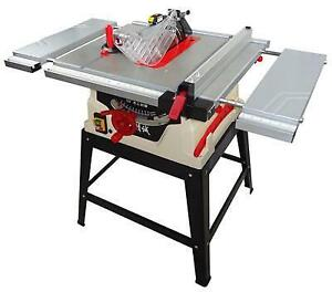1800W Professional Powermatic Woodworking Table Saw with Steel Stand 220V210012