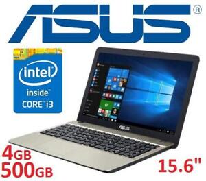REFURB ASUS 15.6 LAPTOP PC - 131946895 - COMPUTER NOTEBOOK INTEL I3 4GB MEMORY 500GB HDD WIN 10