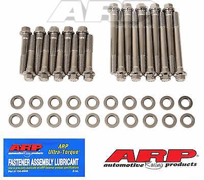 ARP Stainless Steel Cylinder Head Bolt Kit Ford 289-302 Small Block  454-3601 Stainless Steel Cylinder Head