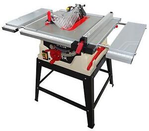 220V Woodworking Sliding Table Saw Equipment with Riving Knife Powermatic 1800W 210012