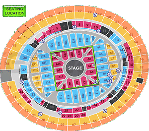 Adele Concert Brisbane A Reserve  Section A12 Manly Brisbane South East Preview