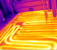 Fix electric floor heating cables