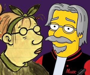 An audience with Matt Groening the creator of the Simpsons Jaspers Brush Shoalhaven Area Preview
