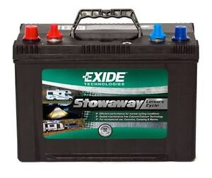 PERTHS CHEAPEST EXIDE DEEP CYCLE  DUAL PURPOSE BATTERY Redcliffe Belmont Area Preview