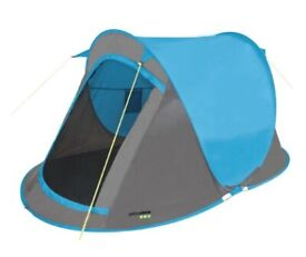 Brand New - Yellowstone Fast Pitch 2 Person Tent Blue