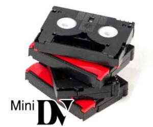 Service for converting mini-DV camcorder videotapes to DVD